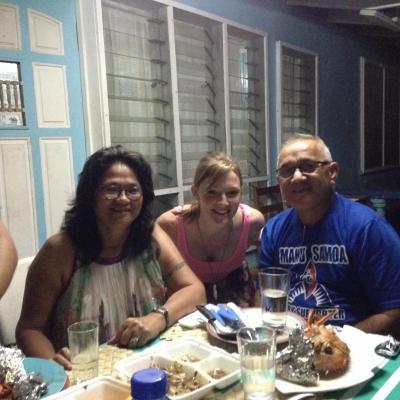 Emma V in Samoa